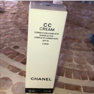 Chanel CC cream super active complete correction